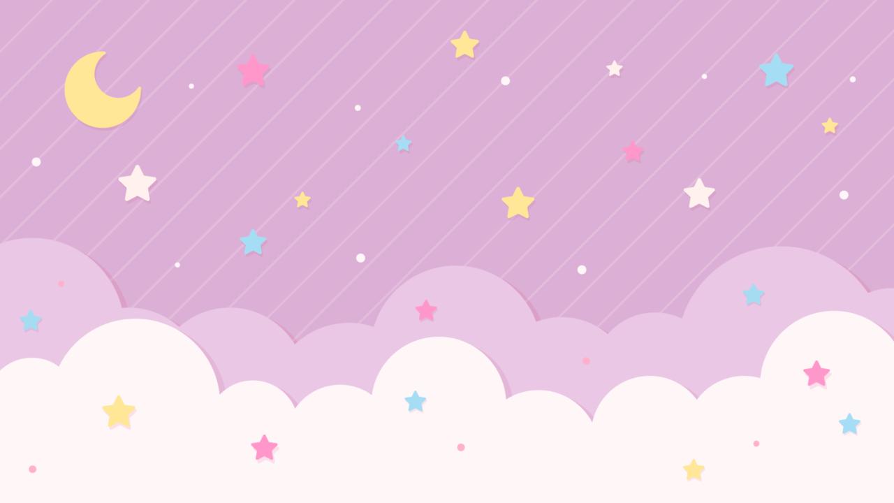 星空のデザイン背景素材カラフル